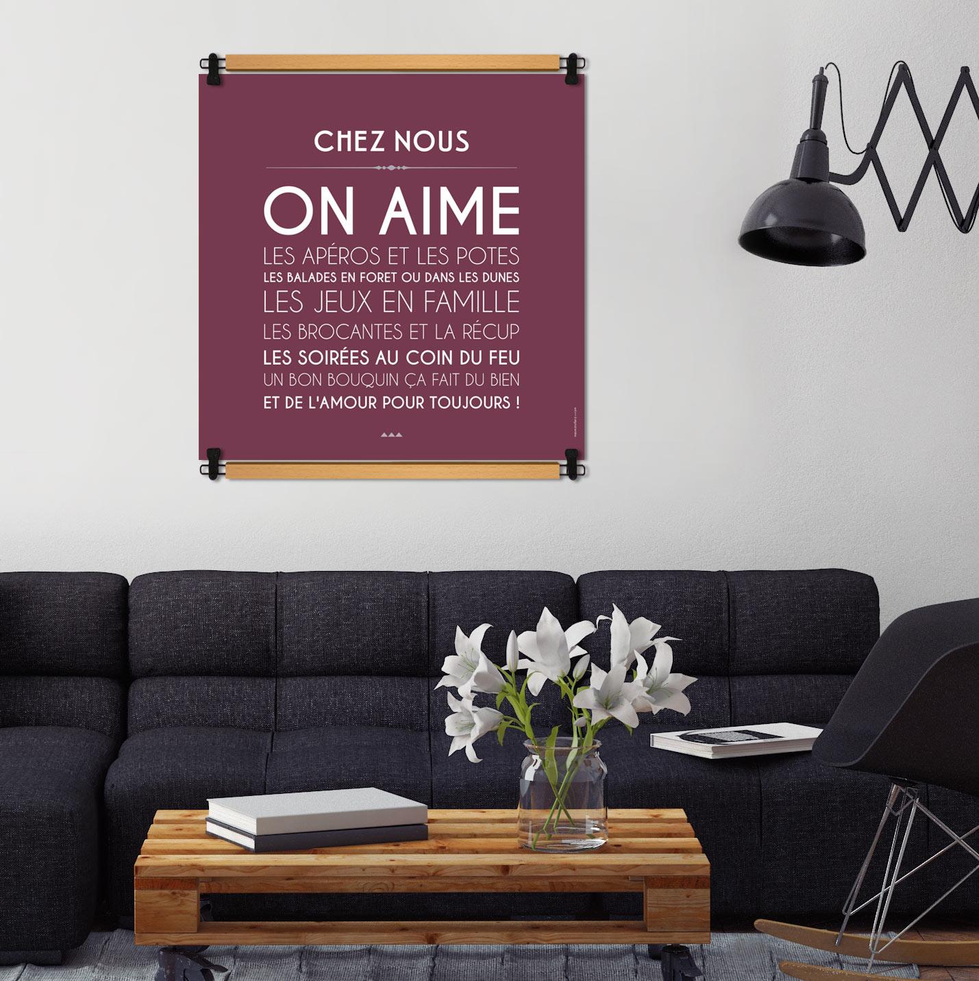 les coups de coeur de mes mots d co une s lection de tableaux de mots. Black Bedroom Furniture Sets. Home Design Ideas